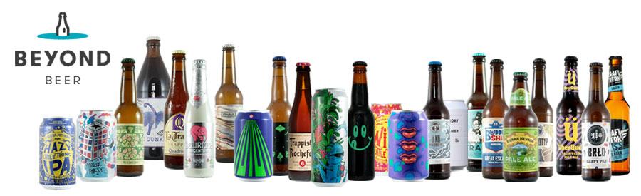 Flaschen der besten Bier Brauereien